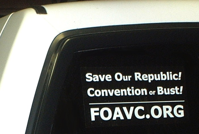 FOAVC Window/Bumper Sticker $4.00 each